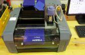 Het gebruik van MDX-20 voor het maken van mallen