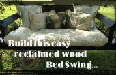 Project Snooze: HOW TO BUILD een eenvoudig BED SWING gebruik van TERUGGEWONNEN hout.