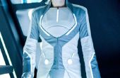 Tron legacy outfit van kras (castor gebaseerd)
