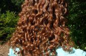 Zelfgemaakte lijnzaad haargel voor krullend en kroezend haar