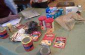 Diepvries zak koken voor backpacken met alleen ingrediënten van de supermarkt