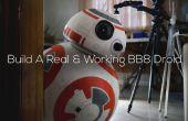 DIY levensgrote telefoon gecontroleerd BB8 Droid