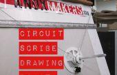 Circuit van Scribe tekening Robot