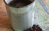 3 deel koffiezetapparaat