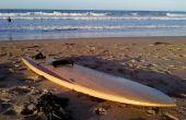Teruggewonnen hout holle hout Surfboard - 9'2
