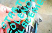 Ter vervanging van een starter solenoïde (Honda Civic 1999, D15B motor).