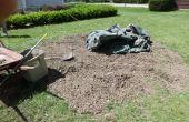 Maak uw eigen Mulch! (Van een grond-Up boomstronk)
