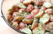 Gekruide aardappel salade recept