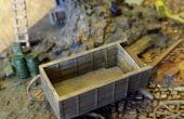 Bouw een 3D gedrukte 1:100 schaal paard getrokken wagen