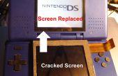 Vervangen van het bovenste scherm van een Nintendo DS (zonder de openstelling van de onderste helft)