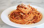 Hoe maak je spaghetti in een paar eenvoudige stappen