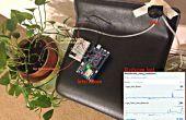Plant van de toezicht- en zorg - met behulp van de Intel Edison
