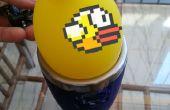 Controle FlappyBird met een ballon, het gebruik van de Barometer Arduino Sensor voor Input