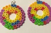 Regenboog geïnspireerd oorbellen