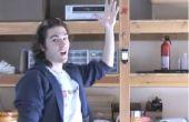 Laser-control iPod door handen zwaaien