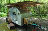 Hoe Steampunk een Teardrop Camping aanhangwagen (deel 2)