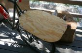 Buitengewoon eenvoudig en gemakkelijk fiets rack flat-bed