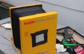 8 x 10 opvouwbare pinhole camera