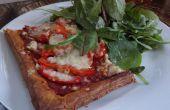 82p verse Healthish Pizza van bladerdeeg!
