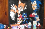Hoe metaal/Mecha Sonic maken van klei