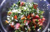 Raddish en tomaat Salade