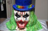 Hoe maak je een kwade Clown taart.