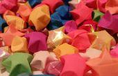 Hoe te maken van Origami papier sterren