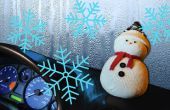 DIY Snowman | Stoppen van autoruiten stomen omhoog