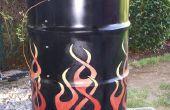 Maken van een Drum Smoker