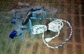 Nuttig & duurzaam 7 Strand touw (snoer) van Plastic draagtassen