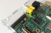 De knoop van de sluiting van de eenvoudige Raspberry Pi