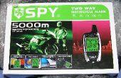 Installeren van een spion 5000 tweeweg motorfiets alarm in een Honda 1998 CB250 Nighthawk