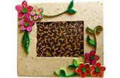 How To Make mooie filigraan fotolijstjes | Gemakkelijk Craft ideeën