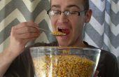 Hoe te eten van herten maïs