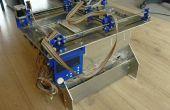 Plan B, een opensource 3DP (poeder en inkjet) 3D-printer