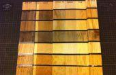 Staalwol en azijn hout veroudering/Ebonizing/verwering (A gecontroleerd Experiment)