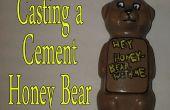 Gieten van een Cement honing Beer