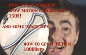 Krijg een epische 1000fps SLOW MOTION Camera voor $150! en gebruikstips!