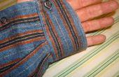 Vinger-minder handschoenen van A flanellen Shirt