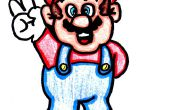 How to Draw hoe vrede Mario!