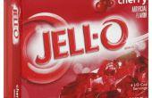 Creëren van een Jell-O hersenen schimmel