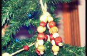 Hoe te maken houten kraal ornamenten