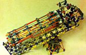 Hoe maak je een K'NEX elastiekje Gatling Gun met selecteerbare rijstanden