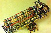 Hoe maak je een K'NEX elastiekje Gatling Gun met selecteerbare rijstanden