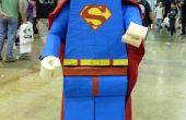 """Hoe te maken van een Lego """"Superman"""" kostuum"""