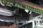 Auto Oil Change-The Right Way