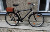 Maken van een moderne fiets oud