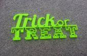 Trick or Treat teken