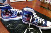DIY Marvel schoenen