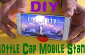 DIY mobiele staan met fles dop (Life Hack)